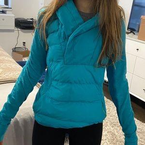 Lululemon Athletic hooded puffer jacket